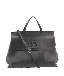 Gucci Bamboo Daily Tote in Black