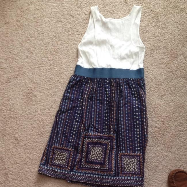 Chelsea & Violet short dress Blue And White on Tradesy