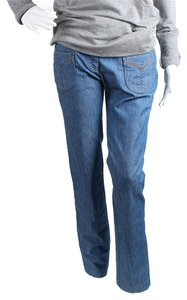 Dolce & Gabbana Straight Leg Jeans-Medium Wash