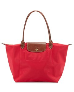 Longchamp Large Tote Nylon Shoulder Bag