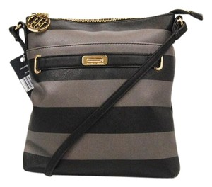 Tommy Hilfiger Black Gray Pepper Cross Body Bag