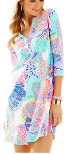 Lilly Pulitzer short dress Multi Roar Of The Seas on Tradesy