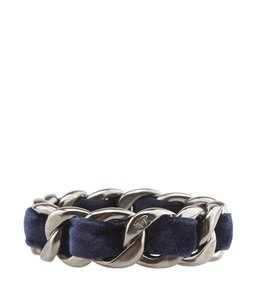 Chanel Chanel, A63333, Velvet, Gunmetal, Bangle, Bracelet, 82338