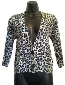 Chico's Carrie Leopard Print Cardigan