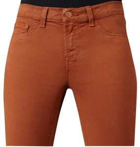 J Brand Skinny Pants Orange