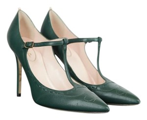SJP by Sarah Jessica Parker Heels Leather Green Pumps