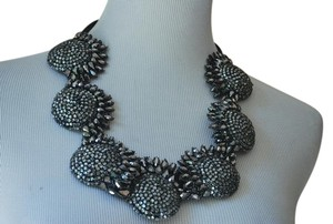 Vera Wang CRYSTAL quirky STATEMENT NECKLACE $875