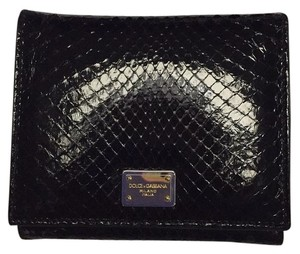 Dolce&Gabbana PYTHON LEATHER WALLET