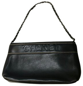 Chanel Black Clutch