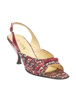 Prada Multi-color Fabric Multi/Print Pumps