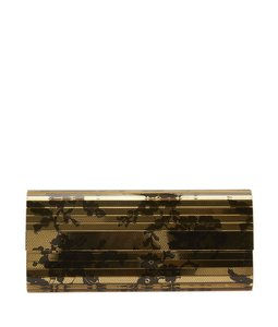 Jimmy Choo Sweetie Black Gold Multi/Print Clutch