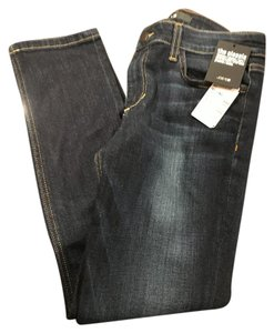 JOE'S Crop Wash Skinny Jeans-Dark Rinse