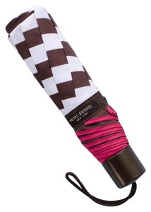 Henri Bendel Striped Short Umbrella