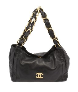 Chanel Olsen Leather Shoulder Bag