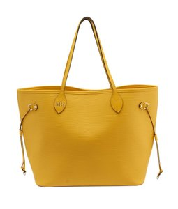 Louis Vuitton Neverfull Mm Tote in Yellow