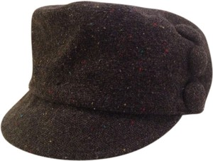 3-button Wool winter cap