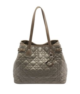 Dior Christian Panarea Grey Tote in Gray