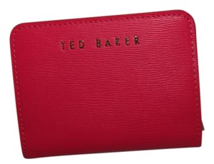 Ted Baker Ted Baker Zip Leather Pop Out Small Purse Wallet