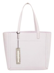 Loeffler Randall Faux Leather Openness Tote in Lilac