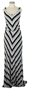 black & gray Maxi Dress by Ella Moss