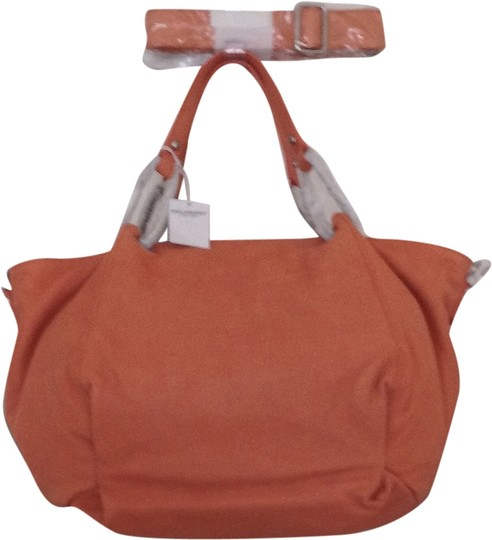 Philosophy di Alberta Ferretti Leather Hobo Tote Crossbody Shoulder Bag