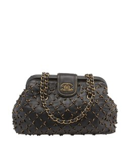 Chanel Chic Knot Gold Shoulder Bag