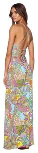 Multicolor Maxi Dress by Trina Turk Halter Maxi