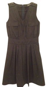 Maude short dress slate on Tradesy