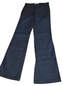 Habitual H Pocket Size 28 Premium Trouser/Wide Leg Jeans-Dark Rinse