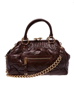 Marc Jacobs Stam Quilted Tote in Brown
