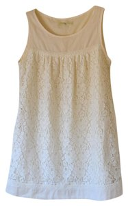 Weston Wear short dress Cream Lace Mini on Tradesy