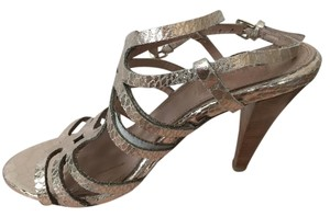 Ella Moss Rose Gold Metallic Sandals