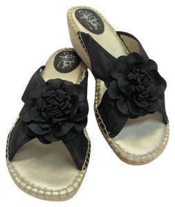 LifeStride Size 10.00 M Padded Footbed Black, Neutral, Wedges