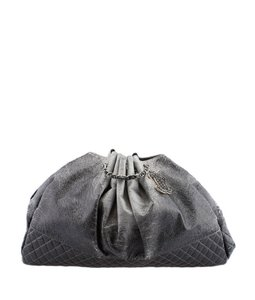 Chanel Melrose Degrade Cabas Tote in Gray