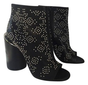 Givenchy Studded Open Toe Stunning BLACK Boots
