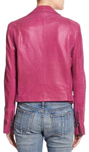 Haute Hippie Pink Leather Jacket