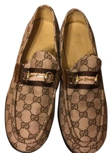 Gucci Pink/brown Flats