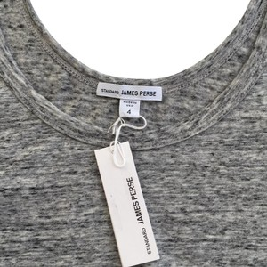 James Perse Rag & Bone Theory Joie Helmut Lang Top Heathered Gray