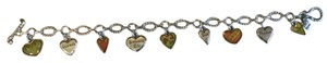 Brighton Sterling Silver Message Of Love Bracelet