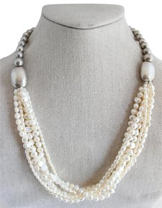 Silpada Silpada Sterling Silver and Multi Pearl Necklace
