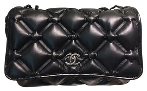 Chanel Calfskin Quilted Shoulder Bag