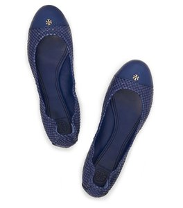 Tory Burch 32336 Atlantic Blue Flats