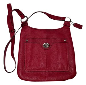 Coach Leather Casual RED Messenger Bag