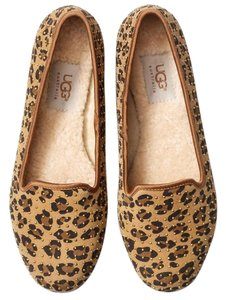UGG Australia Studded Exclusive Uggs Leopard Flats