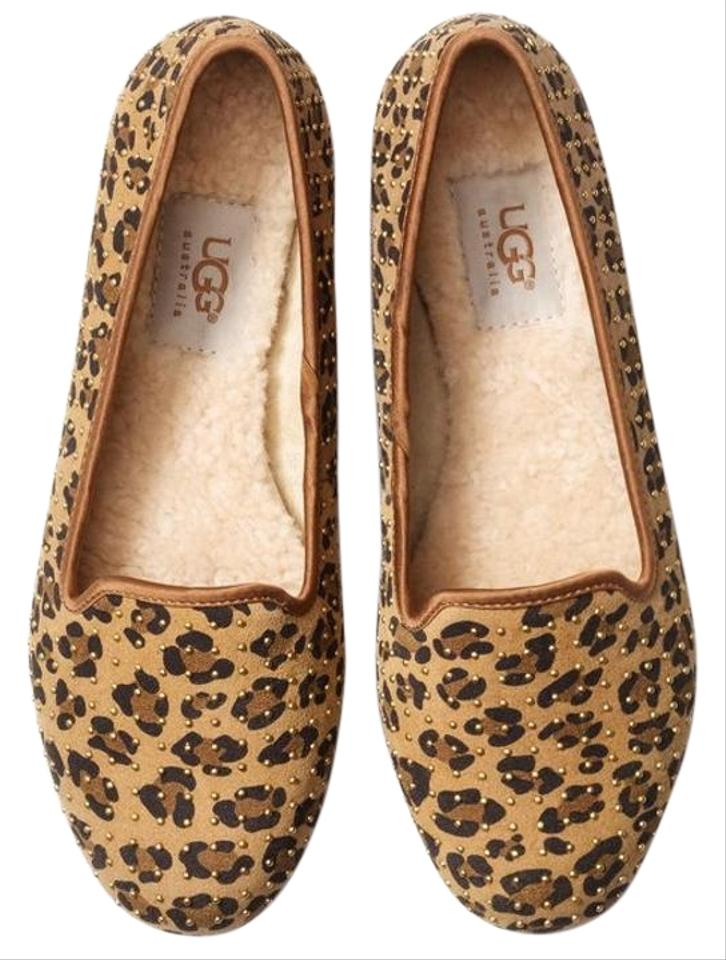 fd7936a47f2 UGG Australia Leopard 'alloway' Studded (Exclusive Color) Flats Size US 5  Regular (M, B) 28% off retail
