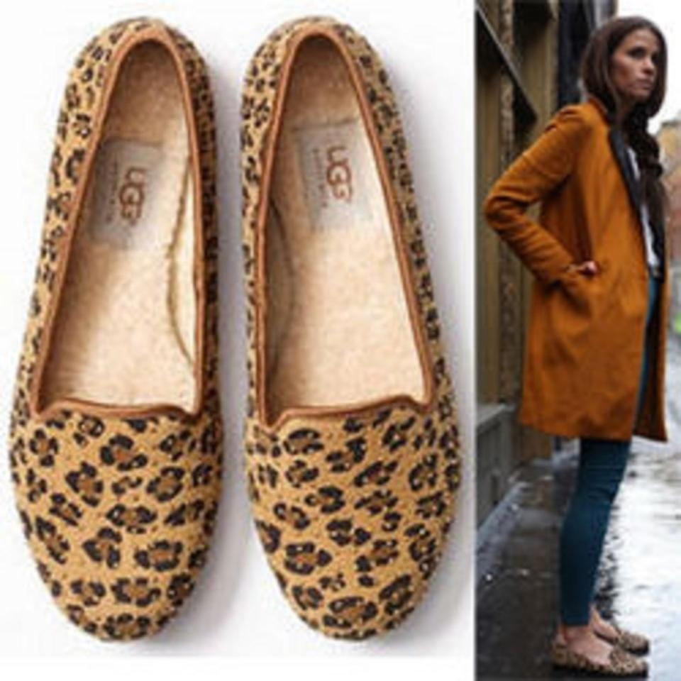 1e83c7e9114 UGG Australia Leopard 'alloway' Studded (Exclusive Color) Flats Size US 5  Regular (M, B) 28% off retail