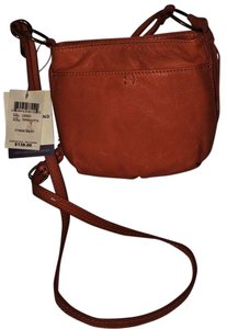 Lucky Brand Leather Cross Body Bag