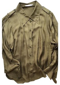Givenchy Top Olive Green