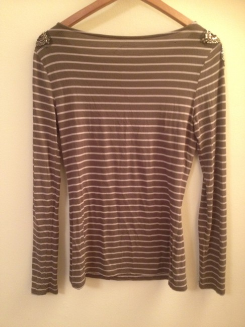 INC International Concepts Top Striped Sequin