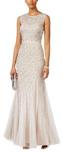 Adrianna Papell Gown Beaded Dress